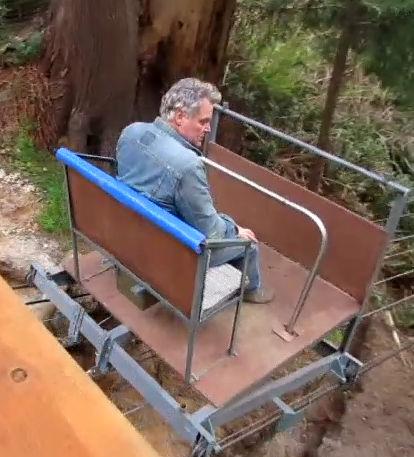 Marc on wagon